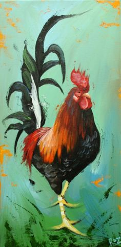Rooster  by Roz