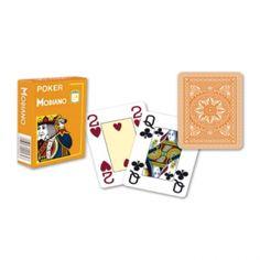 Oranje Speelkaarten voor op de camping