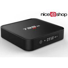 ขอแนะนำ  niceEshop T95M Android กล่องทีวีสมาร์ททีวีตู้ Kodi 16.0พื้นฐานที่ติดตั้ง Amlogic S905X Quad-Core HDMI 3D Streaming MediaPlayer  ราคาเพียง  1,438 บาท  เท่านั้น คุณสมบัติ มีดังนี้ T95M is a smart Streaming Media Player with Android 5.1OS,Amlogic S905 Quad-Core Cortex-A53 Chipset,Mali-450 5-CoreGPU 1GB DDR3 and 8GB EMMC flash, making this box run super fast,easer access to watch TV Amligic S905 solution, the MOST professtional Quad core CPUperformance for Network TV Box. Full Quad…