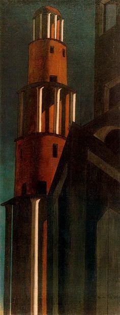 The Tower - Giorgio de Chirico - WikiArt.org