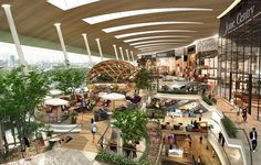 """Rangsit will get the biggest shopping space in Thailand next Friday when the old-school Future Park Rangsit opens its new expansion """"Zpel"""