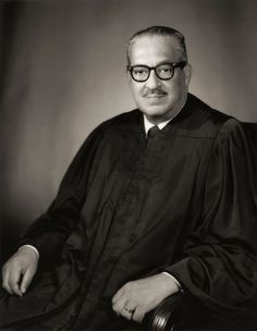 Civil Rights Activists: Thurgood Marshall, the first African-American Supreme Court justice,  played a vital part in ending legal segregation during the Civil Rights Movement through the landmark 1954 case Brown v. Board of Education. (Photo by Stock Montage/Getty Images)