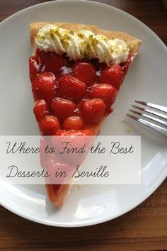 Devour Seville's hand guide to where to find the best desserts in Seville! Devour Seville's hand guide to where to find the best desserts in Seville! Spanish Desserts, Spanish Food, Fun Desserts, Delicious Desserts, Dessert Recipes, Yummy Food, Spain Holidays, Seville, Tapas