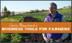 The Purple Pitchfork - Chris Blanchard's Business tools for farmers