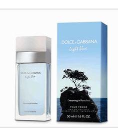 89f34505190eff DOLCE   GABBANA D G LIGHT BLUE DREAMING IN PORTOFINO EDT FOR WOMEN  PerfumeStore Singapore