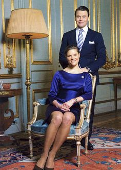 Olof Daniel Westling and Crown Princess Victoria of Sweden  Married: 19 June 2010 at Stockholm Cathedral