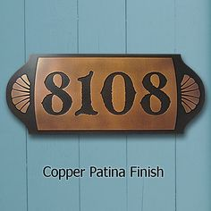 House Numbers On Pinterest House Numbers Home Decor