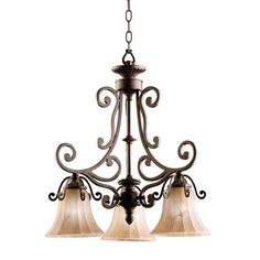 Kichler Lighting 1853CZ 3-Light Cottage Grove™ Mini Chandelier