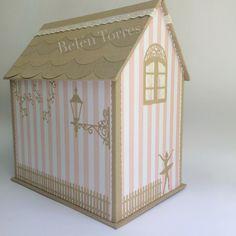 Cartonaje. Casa caja. Belén Torres. Almadetorres.blogspot.com