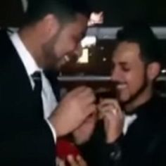 The men face charges of inciting debauchery and violating public decency. http://www.pinknews.co.uk/2014/09/07/egypt-men-arrested-over-same-sex-wedding-video/