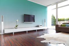 Mojito, artic et ivoire, les couleurs idéales pour un effet #TieandDye tendance et harmonieux. #1825 #peintures #home #inspiration #tendance #2014 #deco