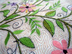 Kantha Embroidery 2 | Flickr - Photo Sharing!