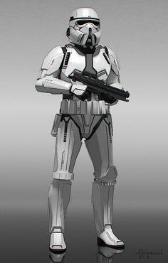 Stormtrooper_B-932x1465- concept art for The Force Awakens