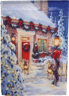 Karácsony-christmas - MFP Coleções A - Picasa Web Albums Christmas Tree Scent, Christmas Scenery, Christmas Past, Christmas Pictures, Winter Christmas, Illustration Noel, Christmas Illustration, Illustrations, Antique Christmas