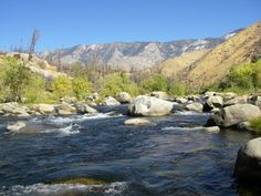 The Kern river, CA