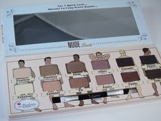 the Balm Nude Dude Eyeshadow Palette Review and Swatches