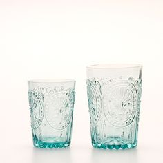 Water Glass/Blue