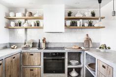 69 Trendy home renovation modern spaces Concrete Kitchen, Kitchen Countertops, Kitchen Cabinets, Interior Design Kitchen, Kitchen Decor, Diy Kitchen, Bathroom Interior, Küchen Design, House Design
