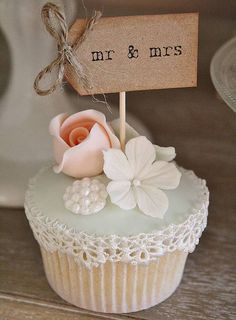 set of ten 'mr and mrs' party picks by vintage twee | notonthehighstreet.com