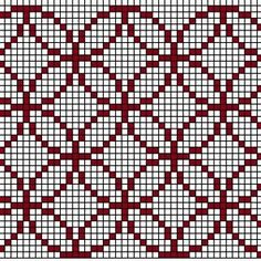 Saules Lācis - Patterns with colors Crochet Bedspread Pattern, Crochet Quilt, Tapestry Crochet, Crochet Motif, Blackwork Embroidery, Cross Stitch Embroidery, Embroidery Patterns, Knitting Stiches, Knitting Patterns