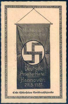 Erste Hitlerfahne Nordeutschlands