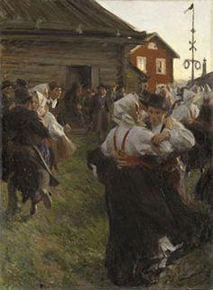 Anders Zorn, Midsummer Dance - Nationalmuseum