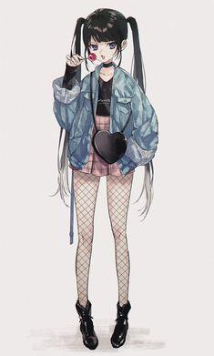Manga Girl, Anime Girl Dress, Cool Anime Girl, Anime Art Girl, Anime Love, Anime Girls, Anime Neko, Chica Gato Neko Anime, Chica Anime Manga