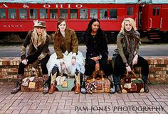 Come on ride the train <3 sarabellajames.com  so in love with these bags...awesome designs by awesome lady!