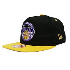3a3bbae6dfb26 Amazon.com  New Era NBA Circle Logo Los Angeles Lakers 9fifty Snap Back Hat  (M L)  Clothing