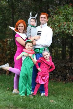 Family Halloween Costumes. The Jetsons