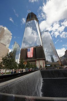 911 Memorial ~ New York City, New York - Standing by our fellow New Yorkers, firemen, police, those we lost, their families and those who became everyday heroes, we choose never to forget the events that transpired...