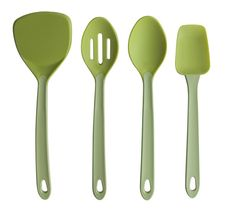 Silicone Kitchen Tools by Silvermark - Green by Chopped Salad Lover, via Flickr
