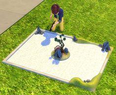 2 to 4 Zen Garden as Dollhouse by BigUglyHag at SimsWorkshop via Sims 4 Updates