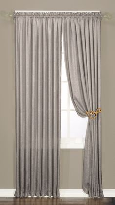 Luster Curtain Panel                                                                                                                                                                                 Mais