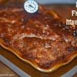 MOM'S FAMOUS MEATLOAF! Best Meatloaf, Meatloaf Recipes, Beef Recipes, Cooking Recipes, Yummy Recipes, Beef Meals, Supper Recipes, Meatball Recipes, Bacon Wrapped Meatloaf
