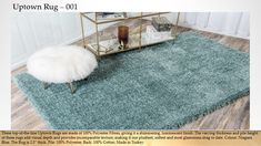 Niagara x Marilyn Monroe™ Shag Rug Old Hollywood Glam, Buy Rugs, Flooring Options, Rugs Online, Own Home, Blue Area Rugs, Shag Rug, Indoor, Marilyn Monroe