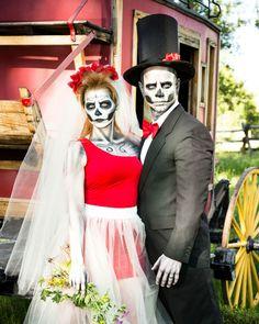 Skeleton Bride and Groom - GoodHousekeeping.com