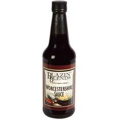 Case includes 12 – 10-oz. bottles of Blazin' Blends Worcestershire Sauce.