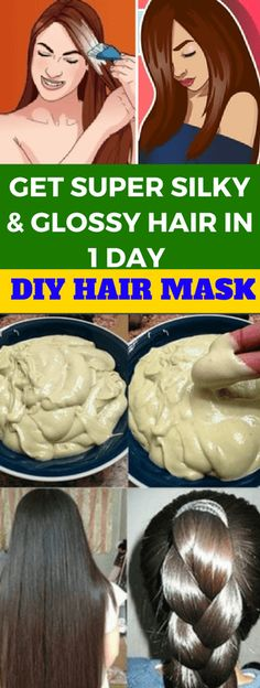 Get Super Silky & Glossy Hair In 1 Day Diy Hair Mask Deep Conditioner! - Tips Life Mega Deep Conditioning Treatment, How To Grow Eyebrows, Glossy Hair, Dull Hair, Damaged Hair Repair, Deep Conditioner, Clean Face, Silky Hair, Hair Health