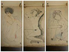 Egon Schiele Signed 1916-1917 Sketch Book - 4