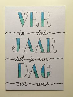 Verjaardag, Handlettering, birthday Hand Lettering Alphabet, Doodle Lettering, Brush Lettering, Doodle Drawing, Painting Words, Chalkboard Lettering, Happy Birthday Pictures, Bullet Journal Inspiration, Letters And Numbers