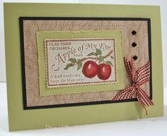 Apple Fresh by JBgreendawn - Cards and Paper Crafts at Splitcoaststampers