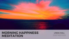 This endorphin raising uplifting guided meditation by Linda Hall is for relaxation and morning happiness, and includes mindfulness and gratitude practice, af. Short Guided Meditation, Meditation Practices, Mindfulness Meditation, Meditation Youtube, Meditation For Beginners, Personal Development Coach, Morning Meditation, Breathing Techniques, Practice Gratitude