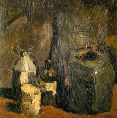 Ronald Ossory Dunlop – Still Life; Oil on canvas, 44.7x44.7 cm   Usher Gallery, Lincoln