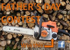 Want to give your Dad a great gift this Father's Day? Then enter our photo contest and get a chance to win a Stihl ms180 chainsaw along with other great prizes. Click on the below link or check our contest tab to find out more.   https://www.facebook.com/jamesriverequipment/app_459493084133818?ref=ts