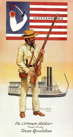 View topic - Soldados: Their Uniforms & Weapons. Mexican Army, Mexican American War, American Civil War, Army History, Texas History, Native American Models, Texas Revolution, West Art, American Frontier
