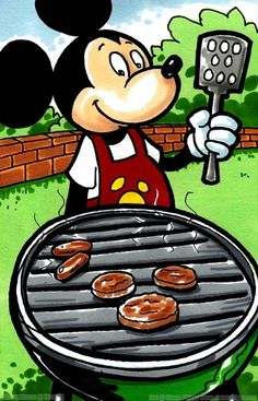 Mickey Mouse Backyard Bbq 50 best 'visual:film, television, radio (bbq,barbecue,barbeque