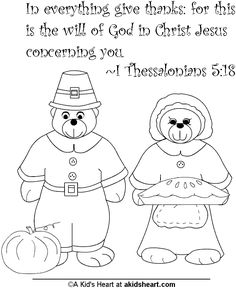 Thanksgiving Bible verse coloring page
