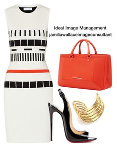 Ideal Image by jamilia-wallace on Polyvore featuring Narciso Rodriguez, Christian Louboutin, Roland Mouret and Michael Kors