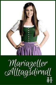 Das Mariazeller Alltagsdirndl wird nicht nur im Wallfahrtsort selbst getragen, sondern in der gesamten Region zwischen Seeberg und Annaberg.